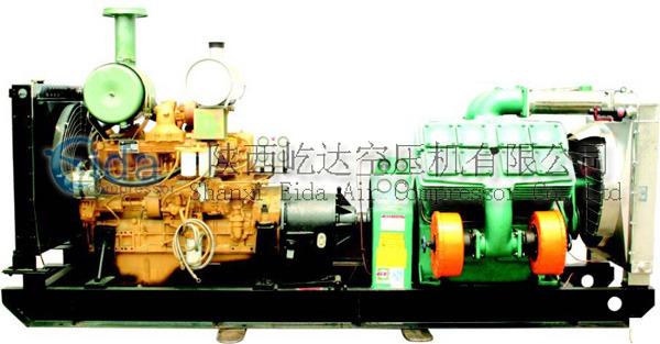 柴动固定式空压机