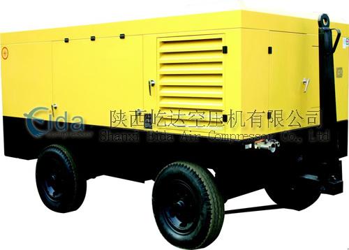 柴油移动式螺杆空压机DHCY-12/7